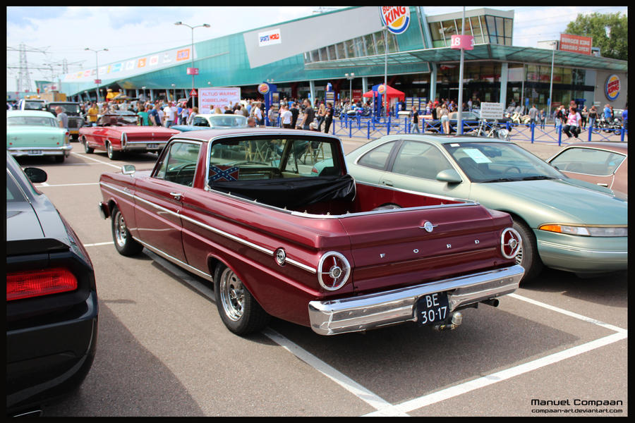 1965 ford ranchero by compaan art