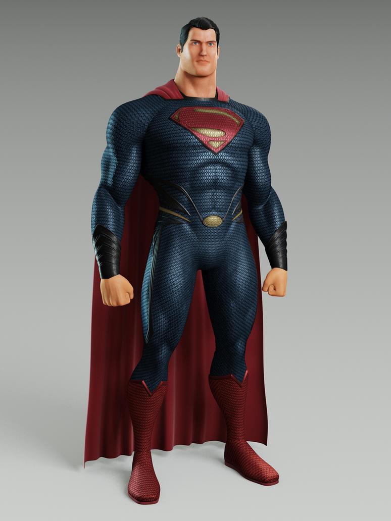MAN OF STEEL SUPERMAN by alejit0