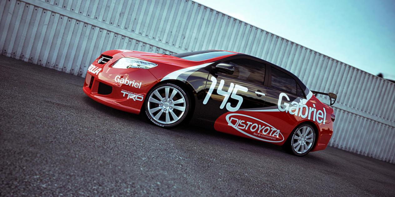 Toyota corolla tuning by alejit0