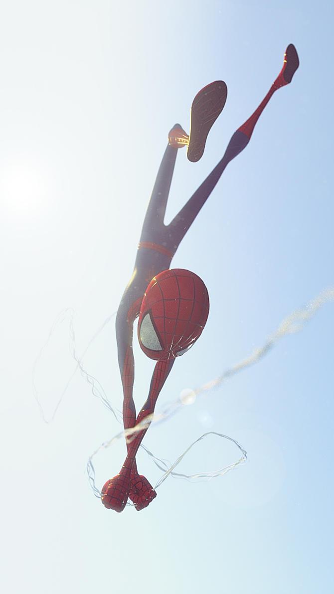 Spider Sun by alejit0