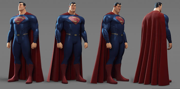 Superman character Sheet