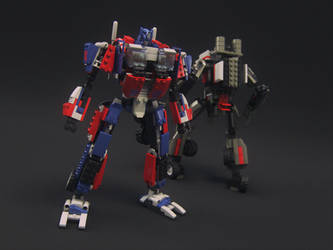Optimus V01 by alejit0