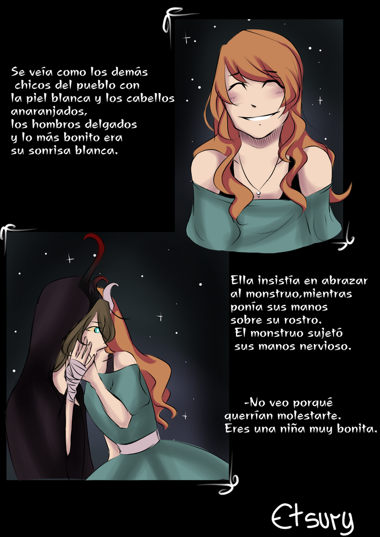 Monster and Enea hoja 5 by mariamora294