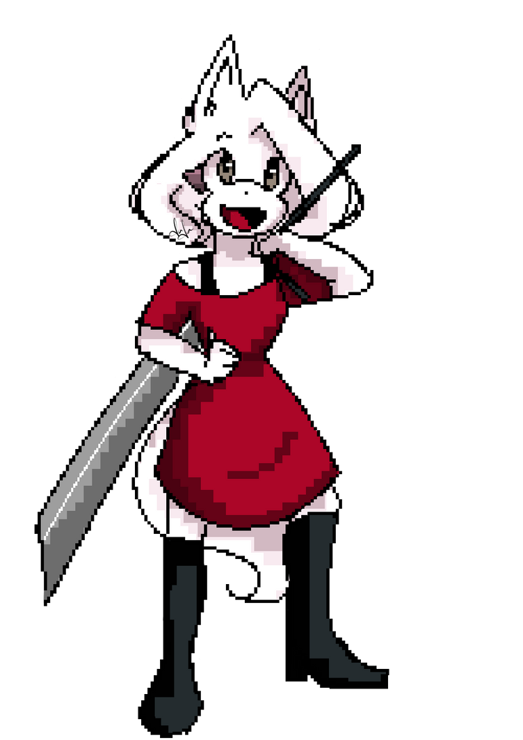 Aura Pixel art by mariamora294