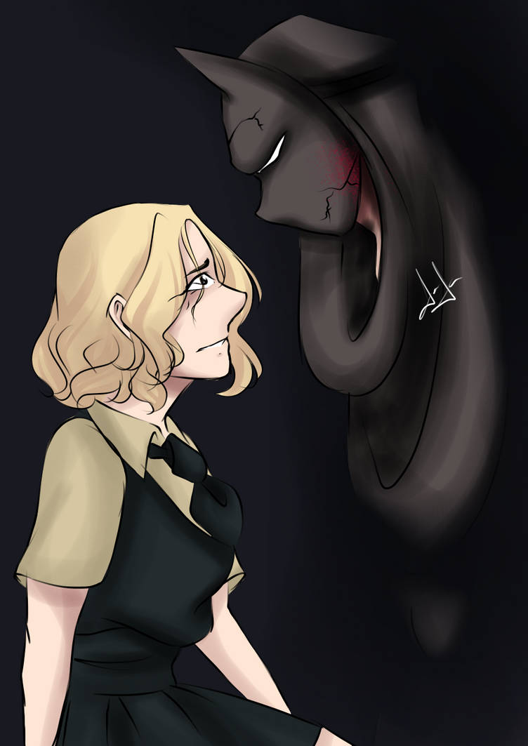 Mary and the man in black by mariamora294