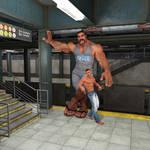 Hangin' at the Subway Station by JoeFixit1