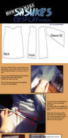 How to make Sasuke's cosplay costume Shippuden