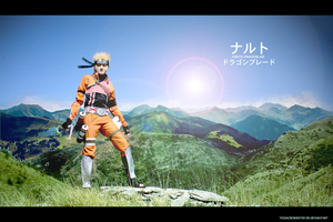 NARUTO - Ryujinki / Dragon Blade Cosplay by TessaCrownster