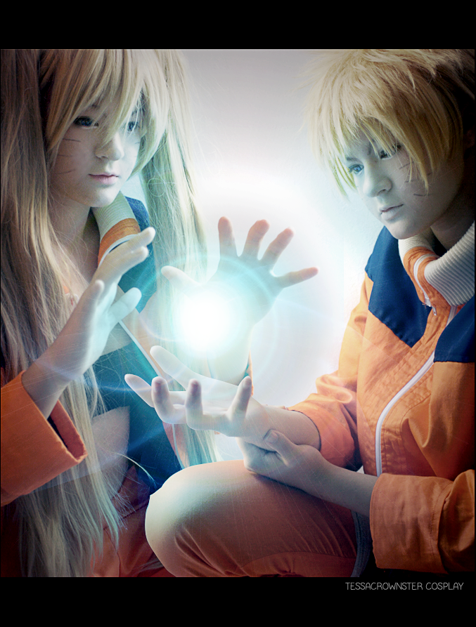 Let's make a rasengan - Naruto / Naruko COSPLAY by TessaCrownster