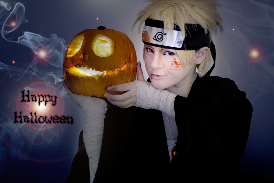 Happy Halloween! - Naruto Cosplay by TessaCrownster