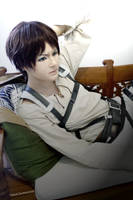 Eren Jaeger - Attack on Titan (3) by TessaCrownster