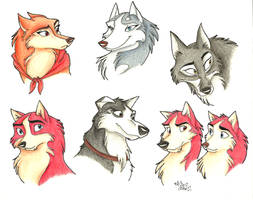 Balto Characters