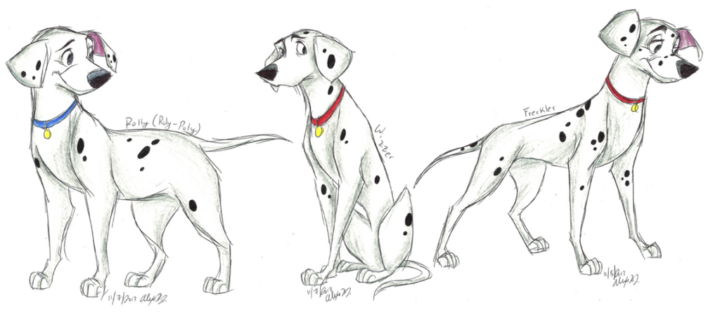 101 Dalmatians-Grown-Up Pups part 2 by NY-Stray