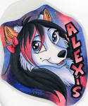 Art Trade-Alexis by Stray-Sketches