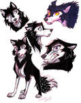 Voltron-Wolf Keith sketches