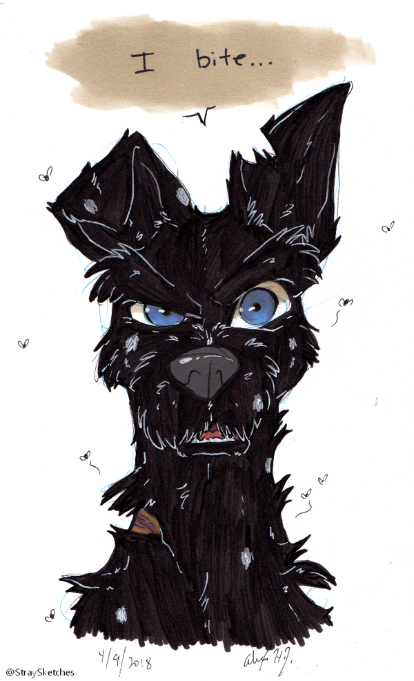 Isle of Dogs-I Bite by Stray-Sketches