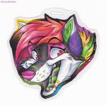 Mini Badge-xrainbowdawnx by Stray-Sketches