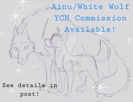 Balto-Ainu/White Wolf YCH