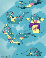 Momo - digital doodles by Stray-Sketches