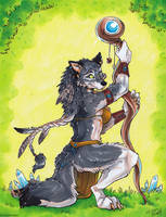 Earth Priestess - Redraw Challenge