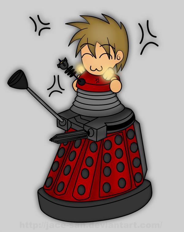 Glomp a Dalek by Jace-san