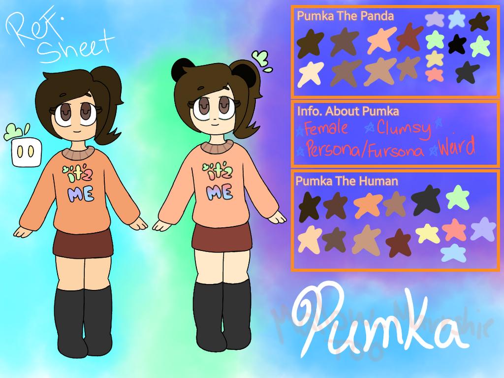 Pumka's Ref. Sheet by Mallow-Marrshie2