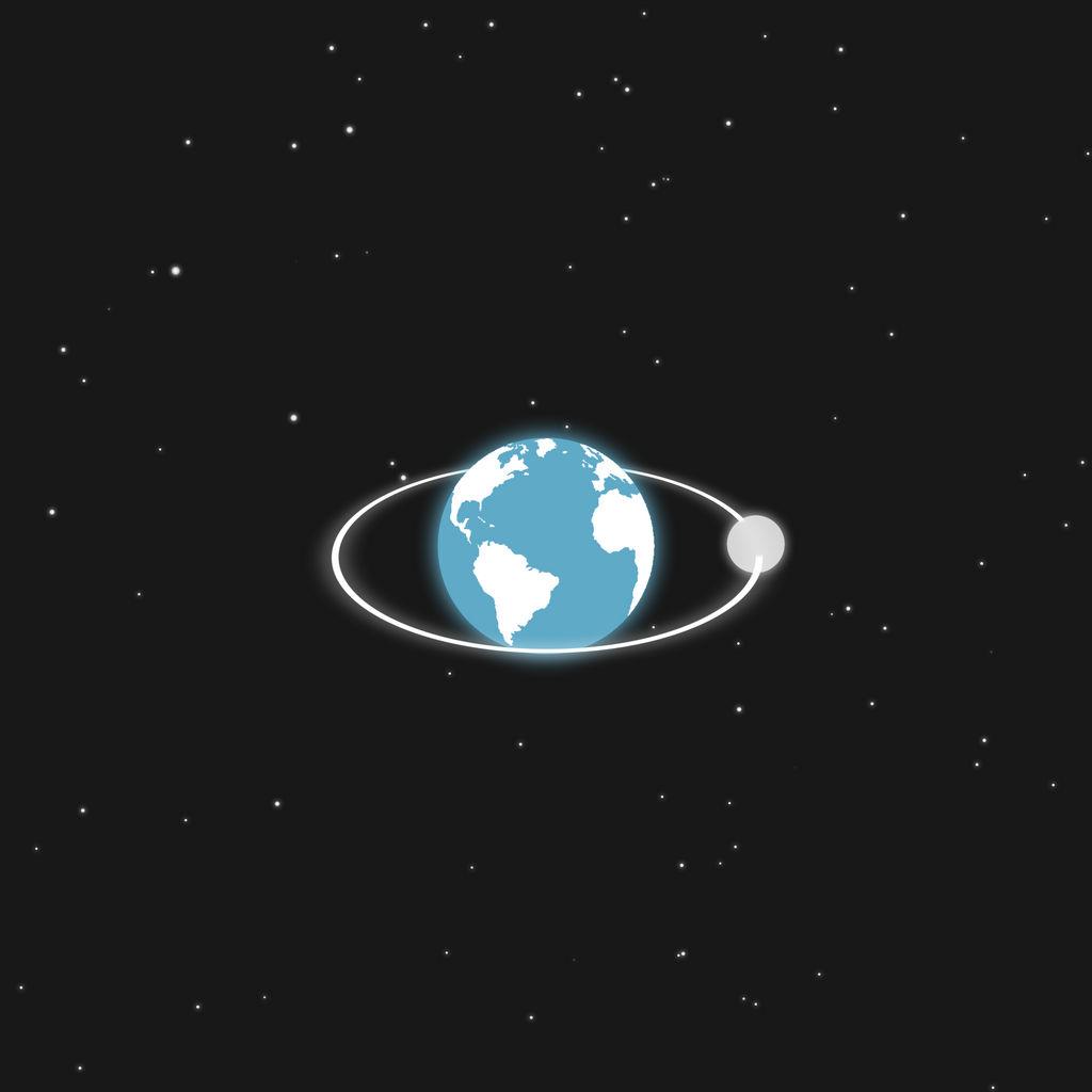 Minimalist Earth Background