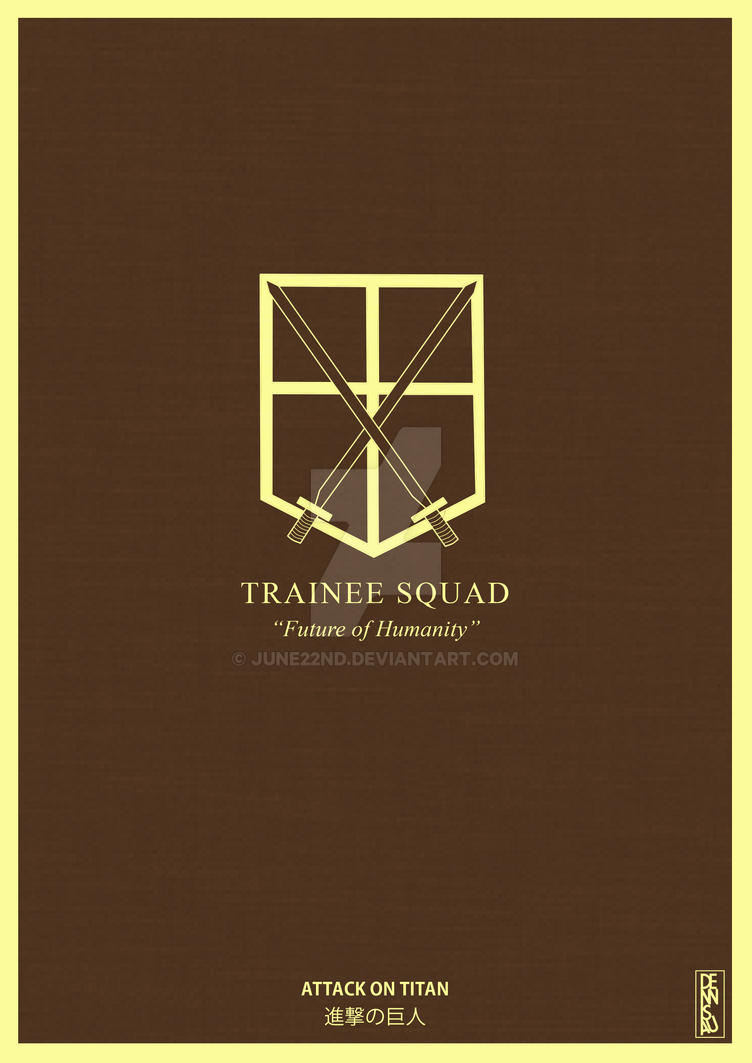 Attack on Titan - Trainee Squad by June22nd