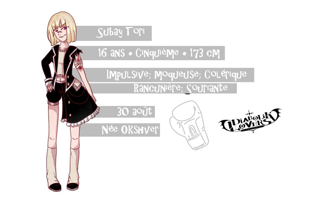 Diabolik Lovers OC - Subay Tori by MinaOffice
