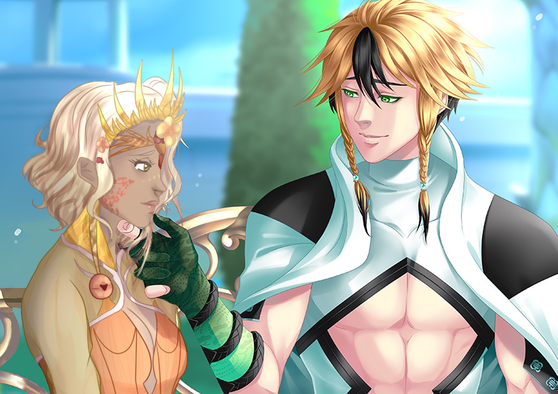 Eldarya leiftan x calixtaxx by minaoffice on deviantart for Eldarya episode 5 solution