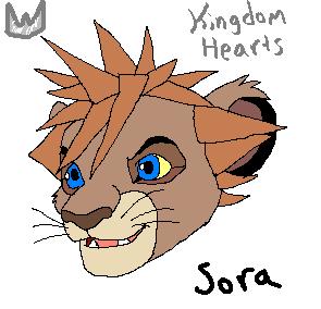 Sora lion cub by Phantassel