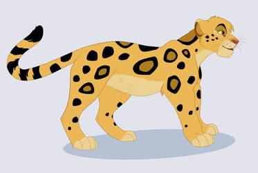 C: Leopard by Phantassel