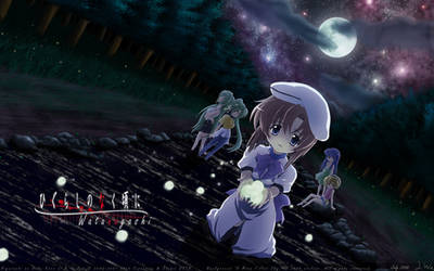 Higurashi - Watanagashi by Digital-Canvas