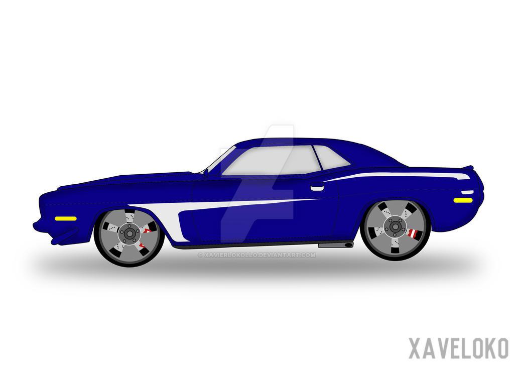 Plymouth (vector version) by xavierlokollo
