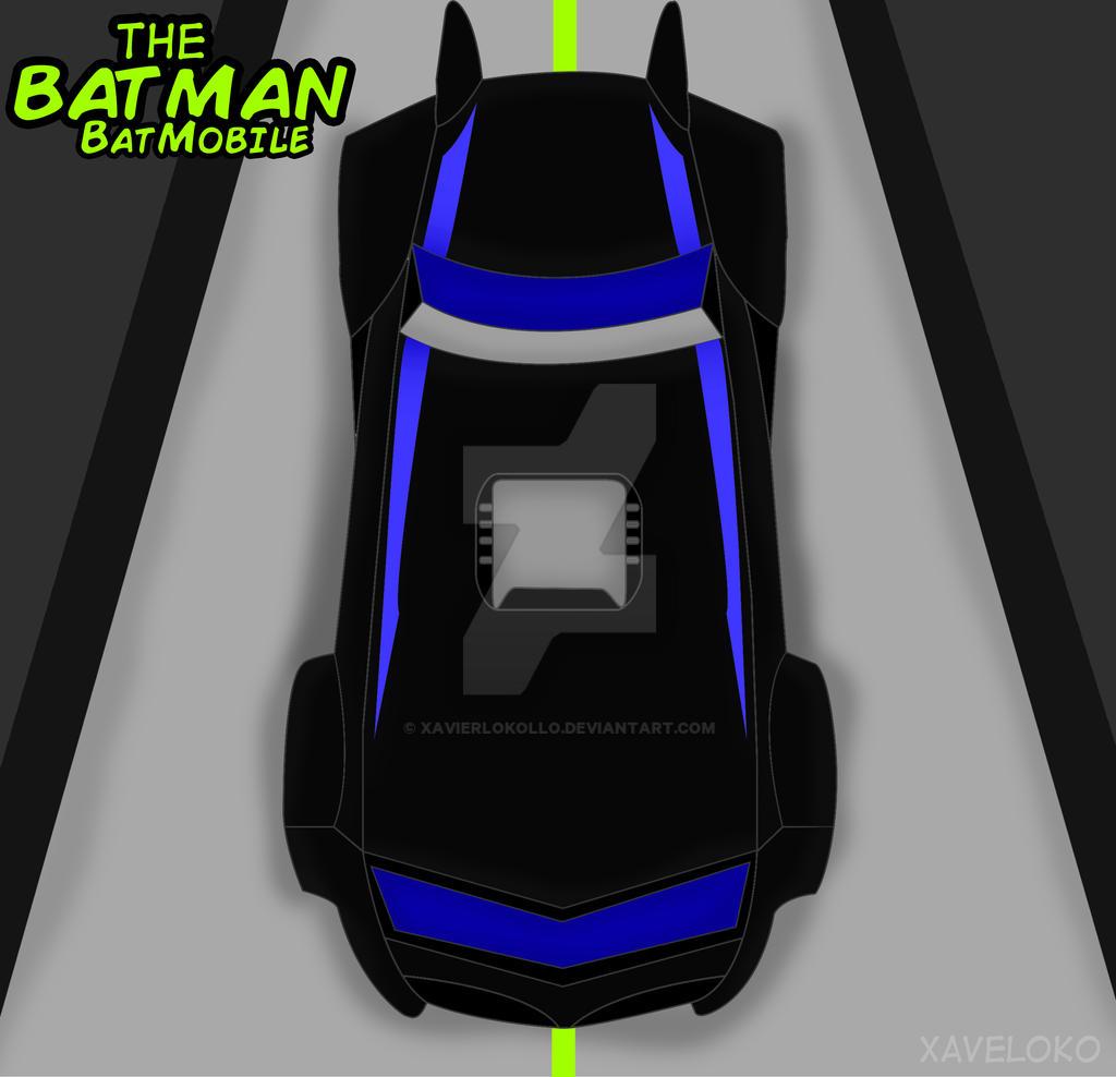 The Batman : Batmobile vector by xavierlokollo