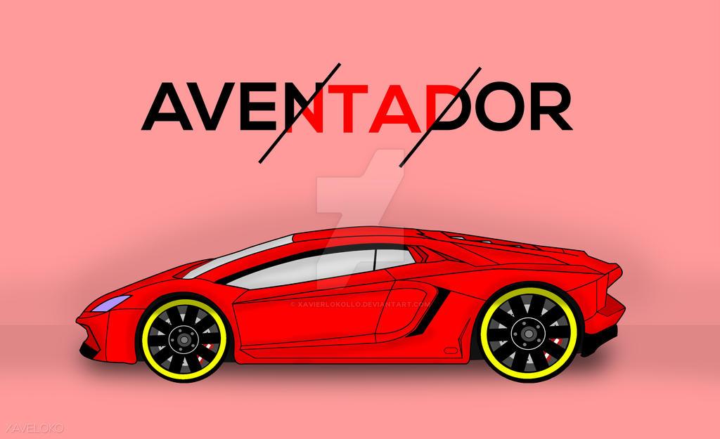 Aventador by xavierlokollo