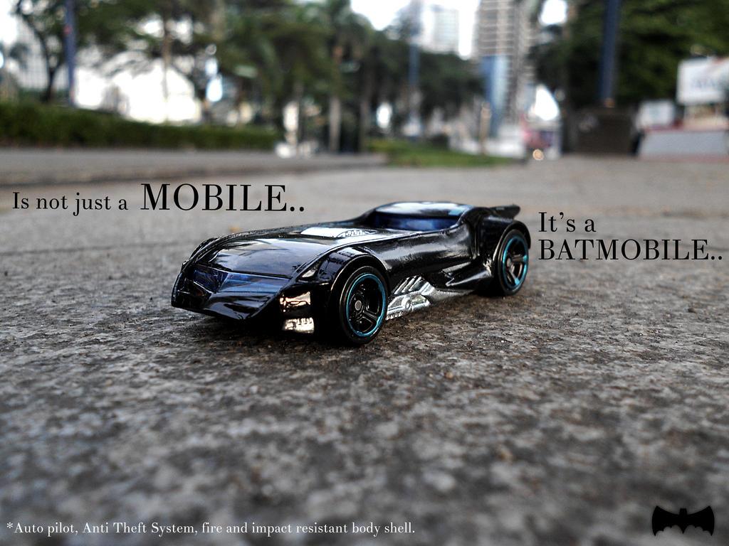Batmobile ads by xavierlokollo