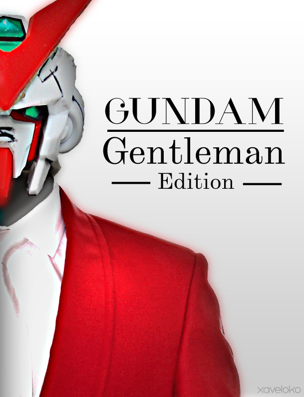 Gundam Gentleman 2 by xavierlokollo