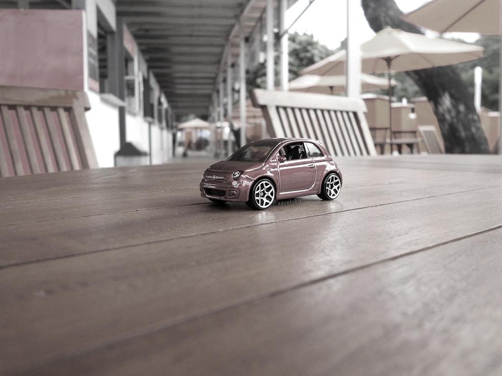 Fiat 500 by xavierlokollo