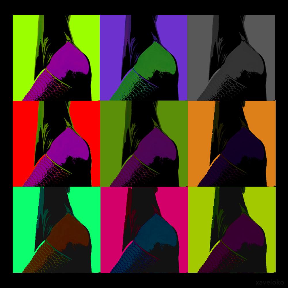 slawada pop art by xavierlokollo