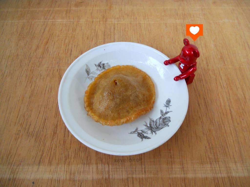 bearbrick love kue cucur by xavierlokollo