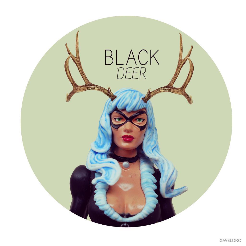 Black Deer by xavierlokollo