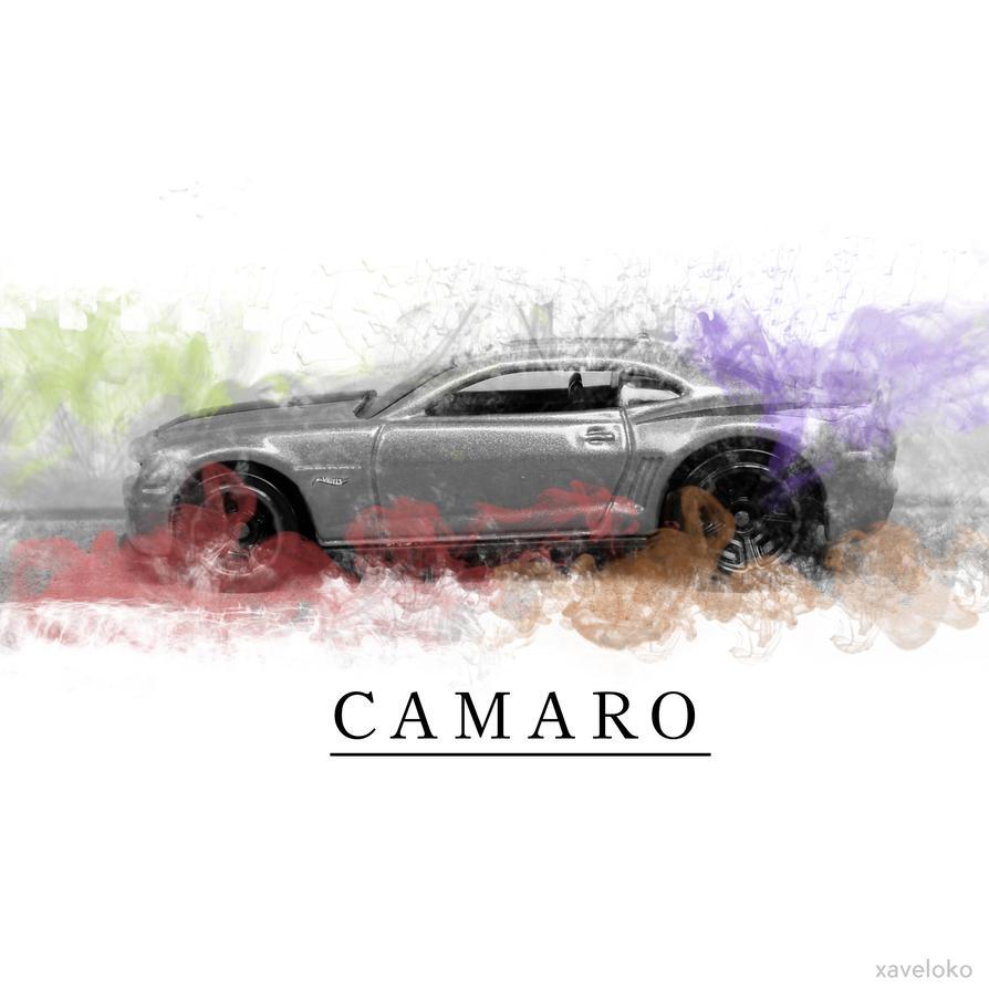 C A M A R O Smoky art by xavierlokollo