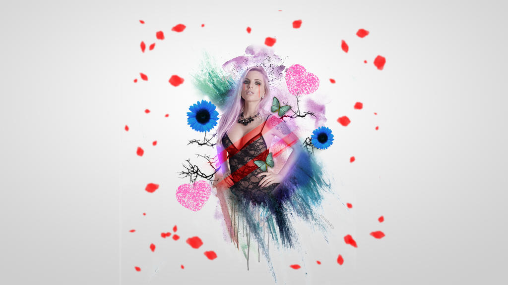 Jessica Weaver Wallpaper by xavierlokollo