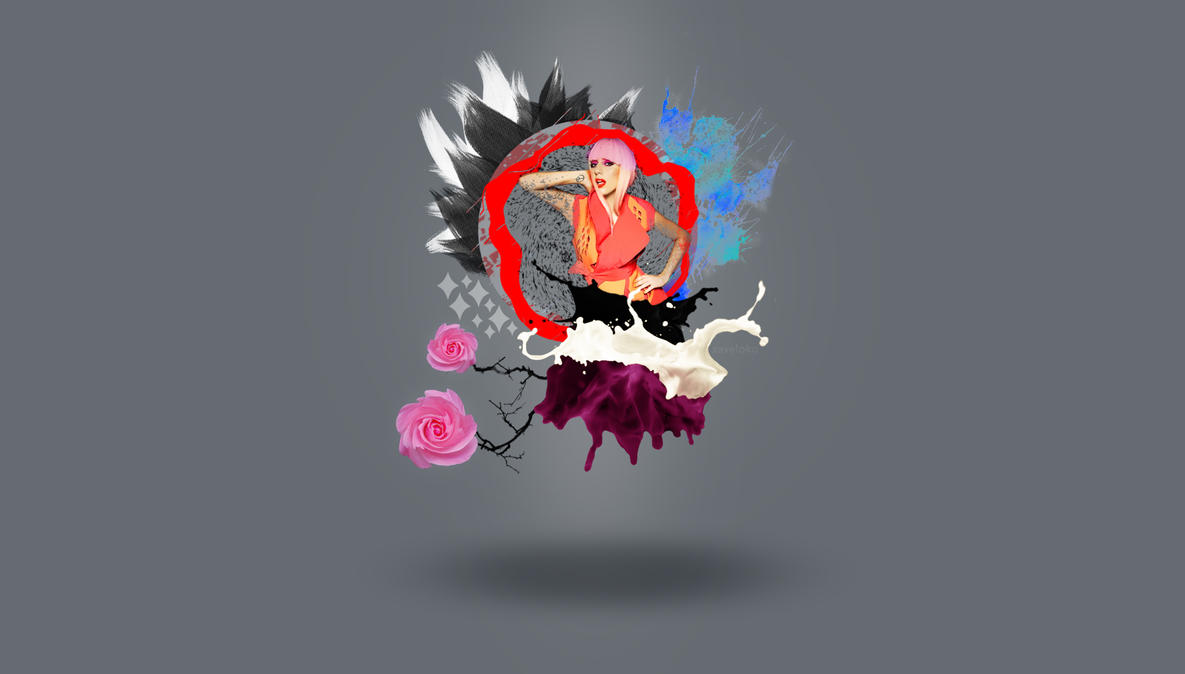 Lady Gaga Wallpaper by xavierlokollo