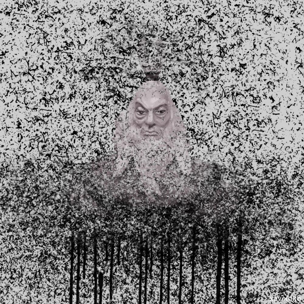 Avatar Roku Abstract by xavierlokollo