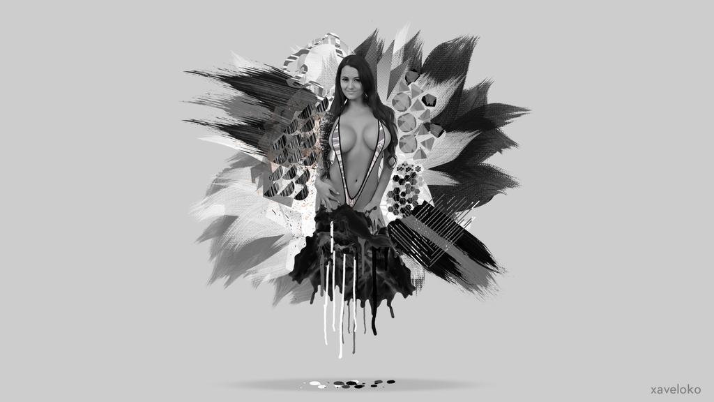 pashence Marie Abstract Wallaper by xavierlokollo