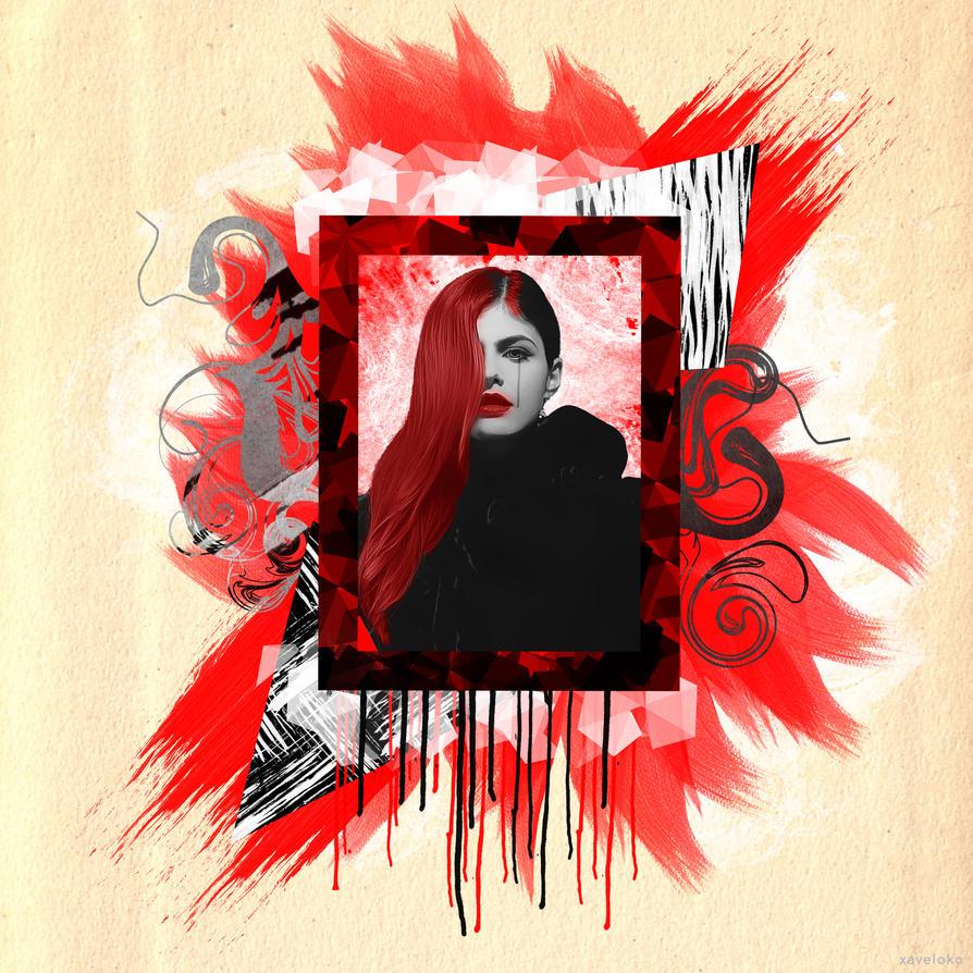 Alexandra Daddario Frame by xavierlokollo