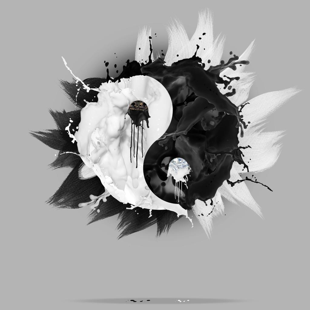 Yin Yang Liquid by xavierlokollo