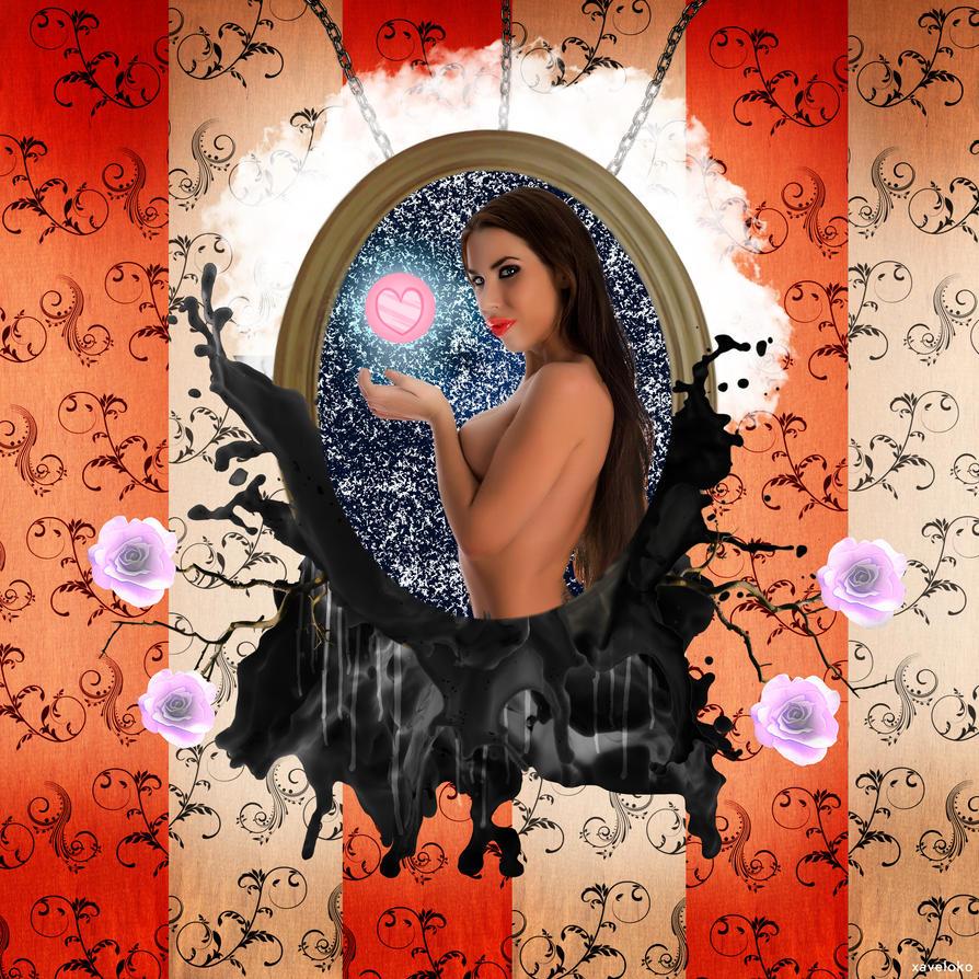 Girl In The Frame by xavierlokollo